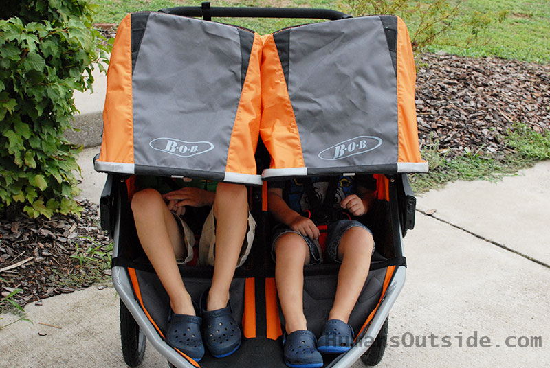 BOB Dualie Stroller Review - Yes, you want one. Here's why: https://wp.me/p5hM3U-V