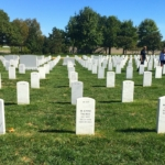 Outside at Arlington National Cemetery