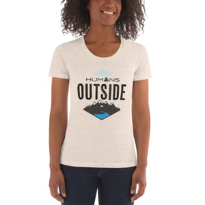Humans Outside tshirt