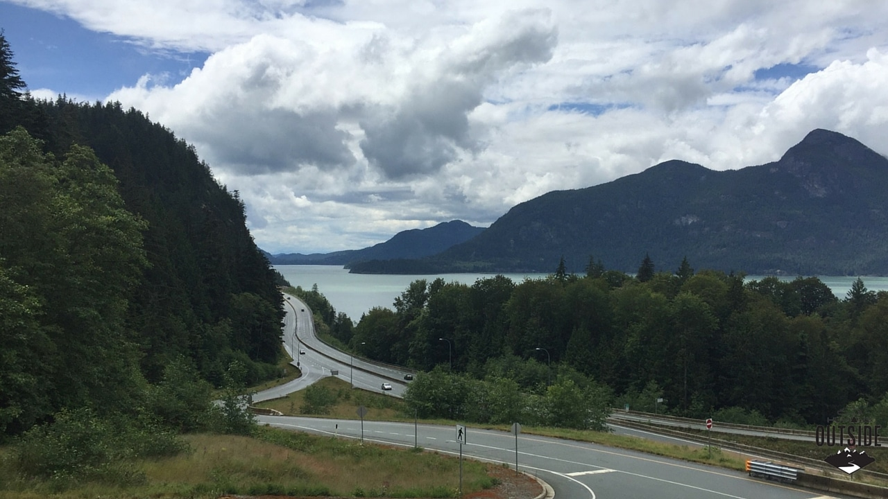 Of the Sea to Sky Highway, BC Canada