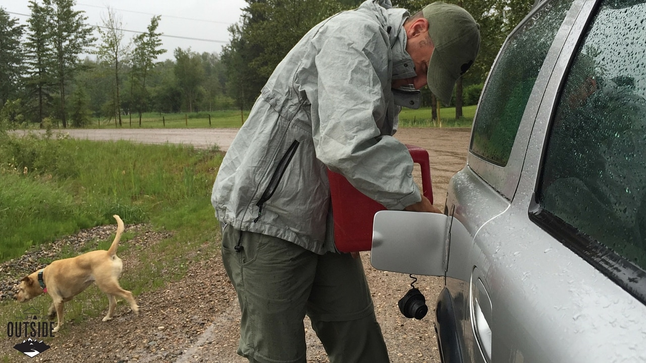 And this is exactly why you pack a gas can.