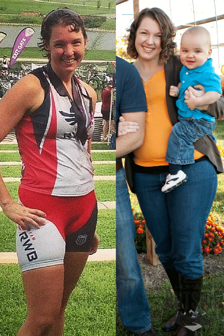 Me before Whole30 changed my life (on the right) and less than two years later (on the left).