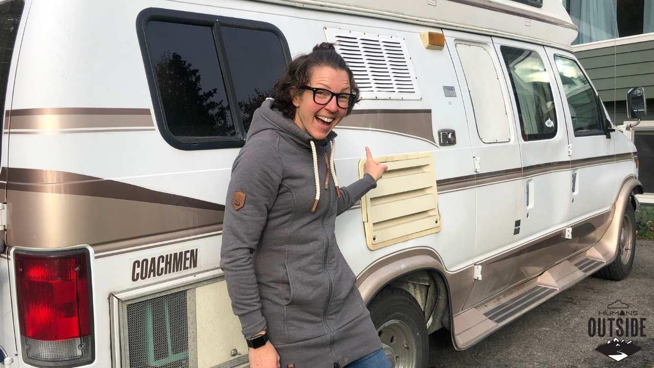 We bought a Coachman camper van