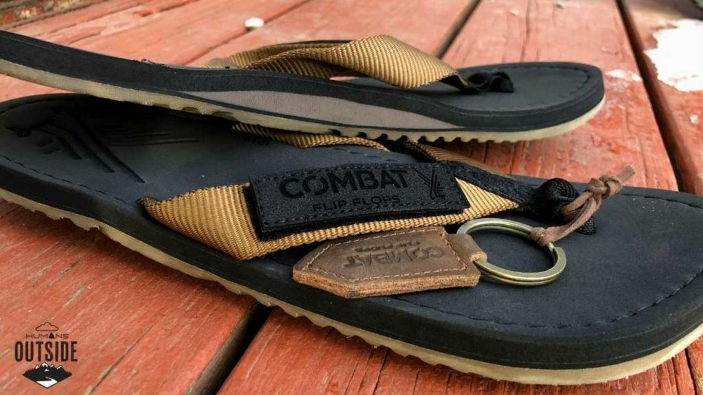 Combat Flip Flops Humans Outside