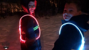 Kids wearing Noxgear Tracer260 vests