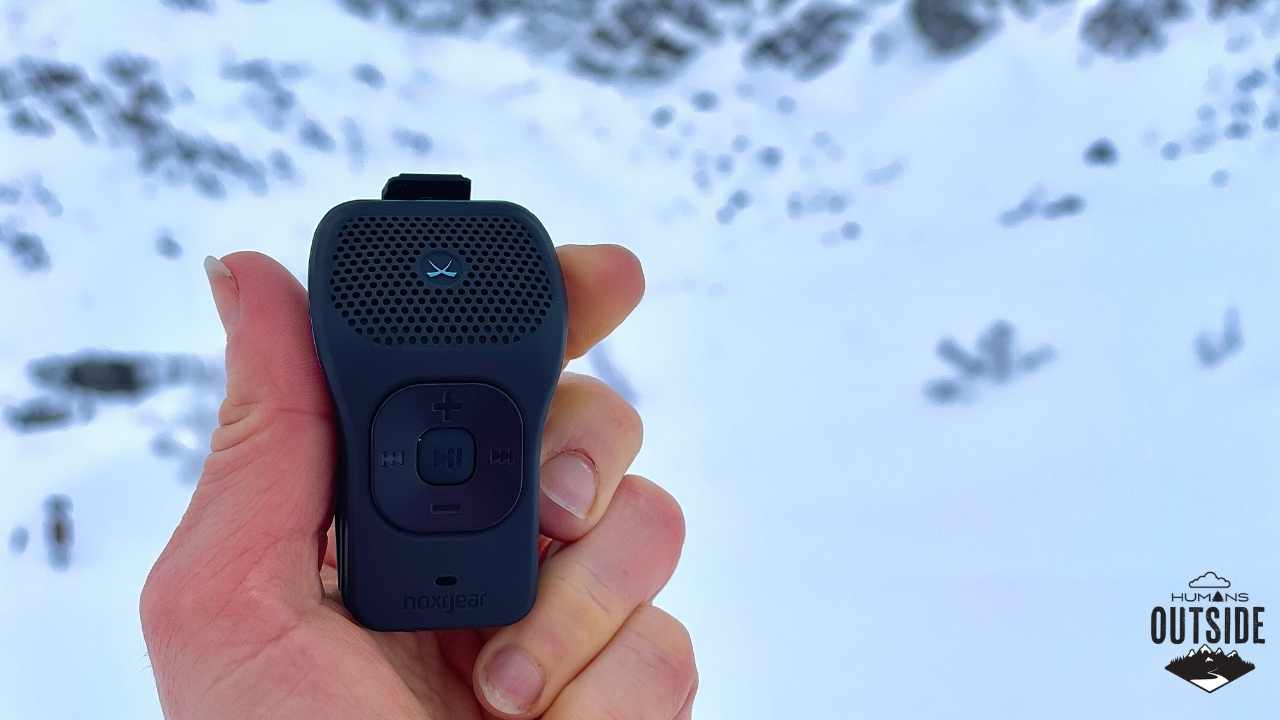 Noxgear 39g speaker Darn Tough socks Humans Outside winter guide